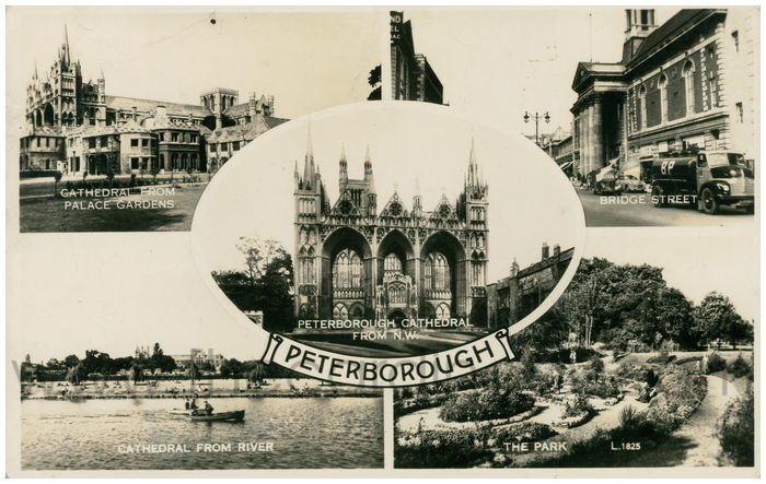 Postcard front: Peterborough