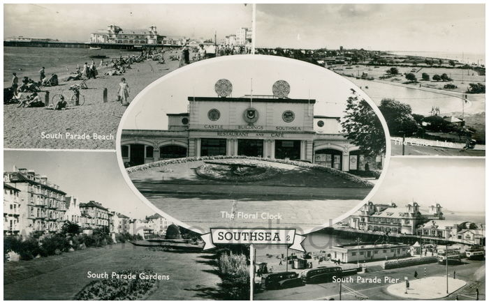Postcard front: Southsea