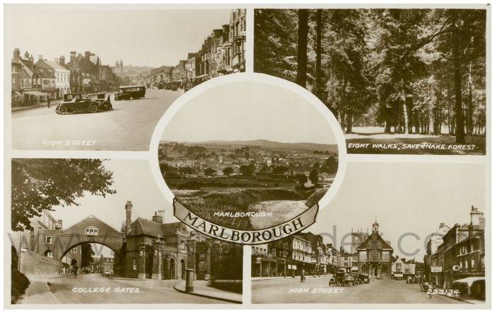 Postcard front: Marlborough