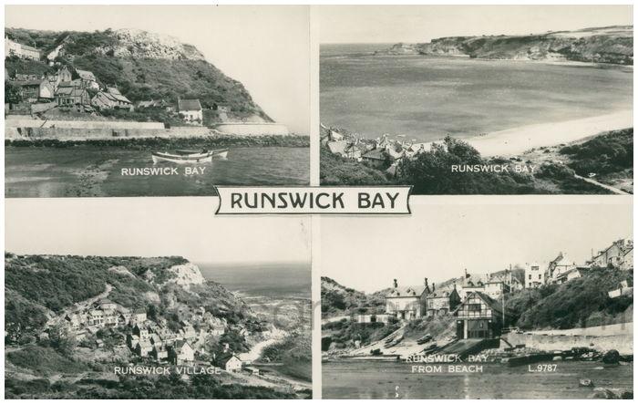 Postcard front: Runswick Bay.