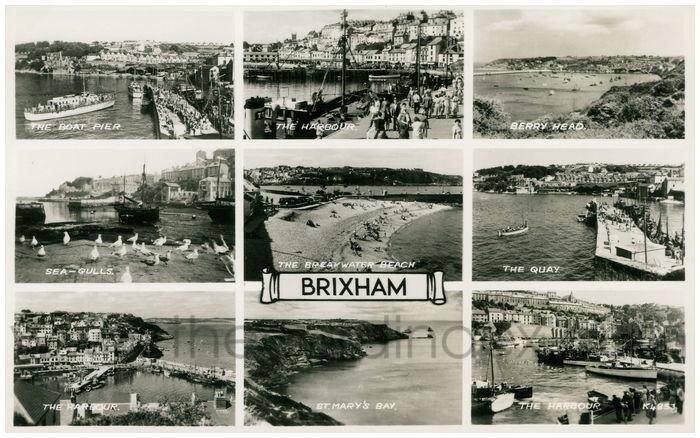 Postcard front: Brixham