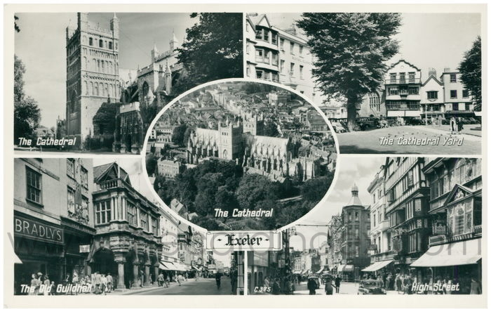 Postcard front: Exeter