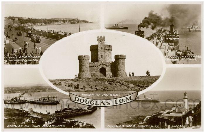 Postcard front: Douglas I.O.M.