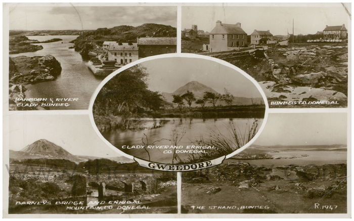 Postcard front: Gweedore
