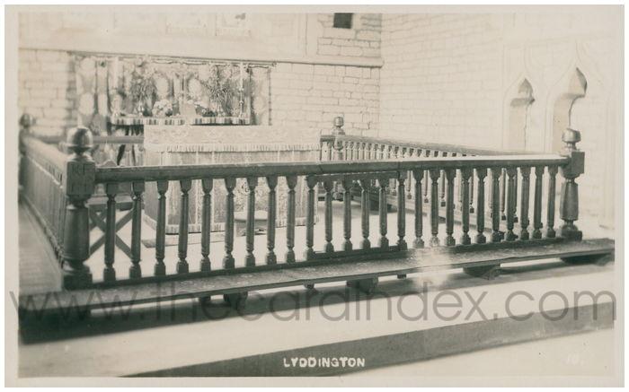 Postcard front: Lyddington