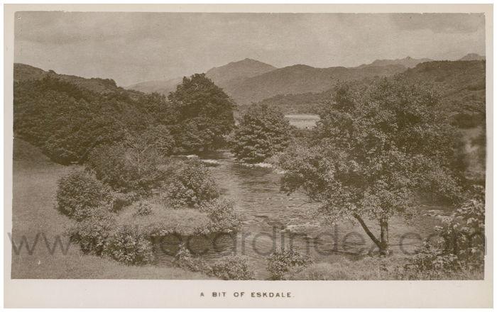 Postcard front: A Bit Of Eskdale