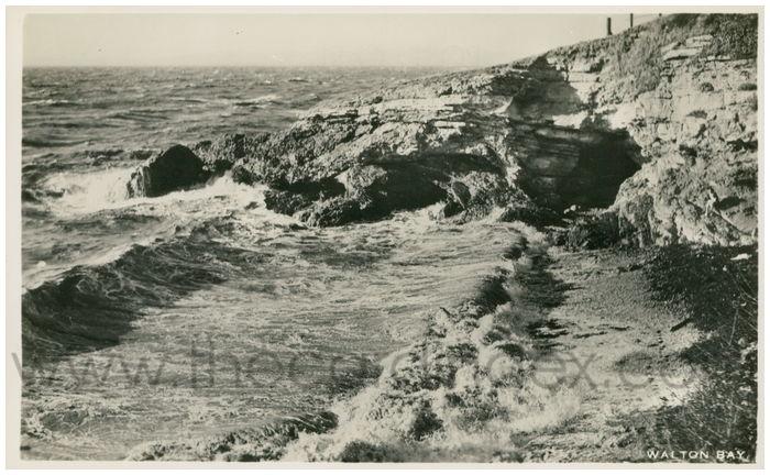 Postcard front: Walton Bay.