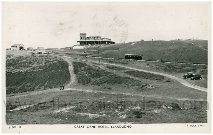Postcard front: Great Orme Hotel, Llandudno