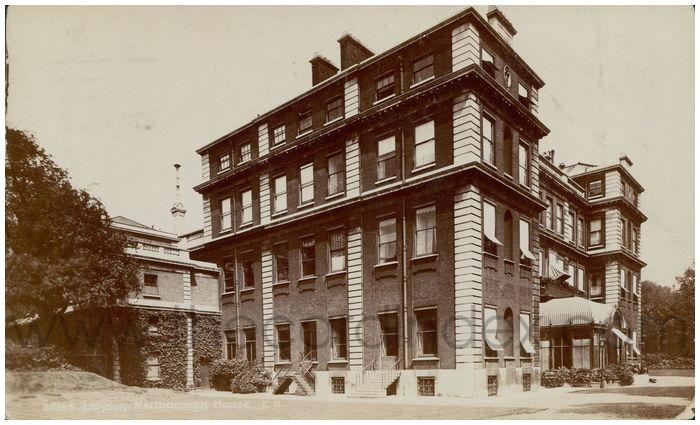 Postcard front: London, Marlborough House.