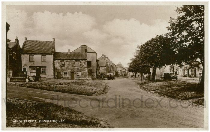 Postcard front: Main Street, Osmotherley