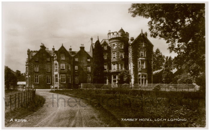Postcard front: Tarbet Hotel, Loch Lomand