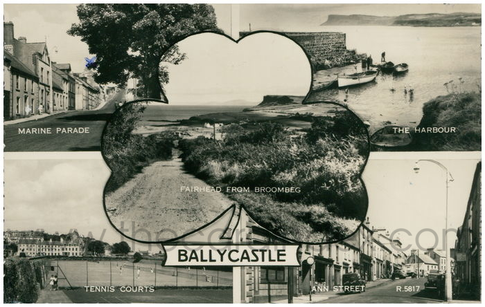 Postcard front: Ballycastle
