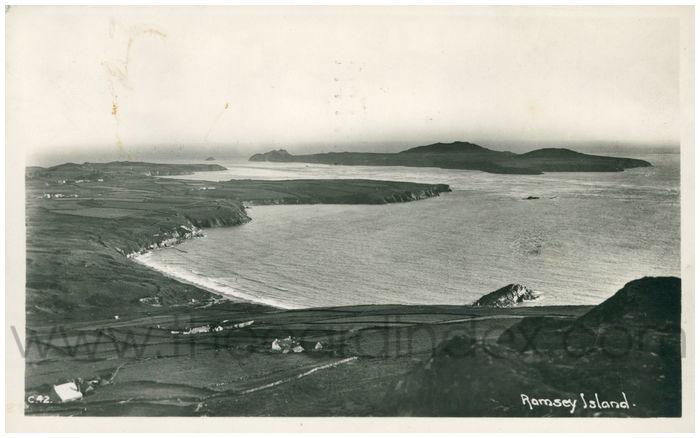 Postcard front: Ramsey Island.