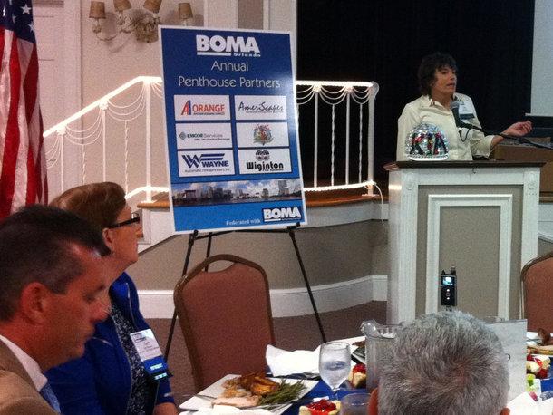 Kia Ricchi at BOMA Orlando 2012