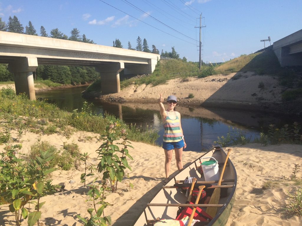 The best paddling partner a guy could ask for! Thanks Kay!