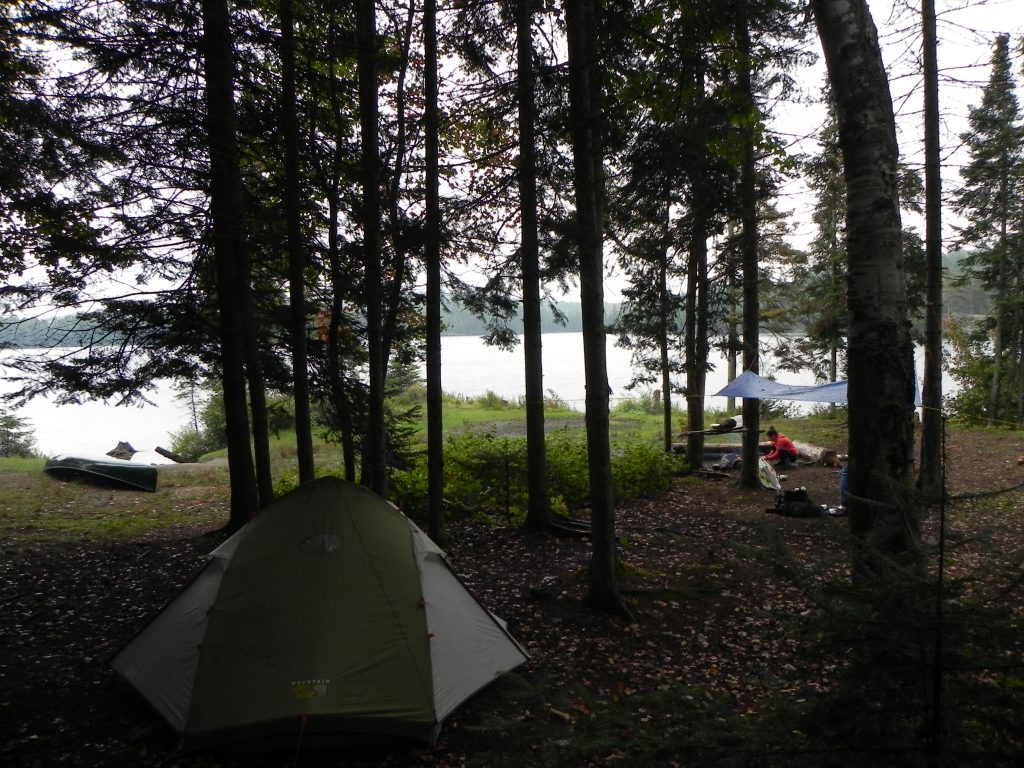 Typical campsite picture