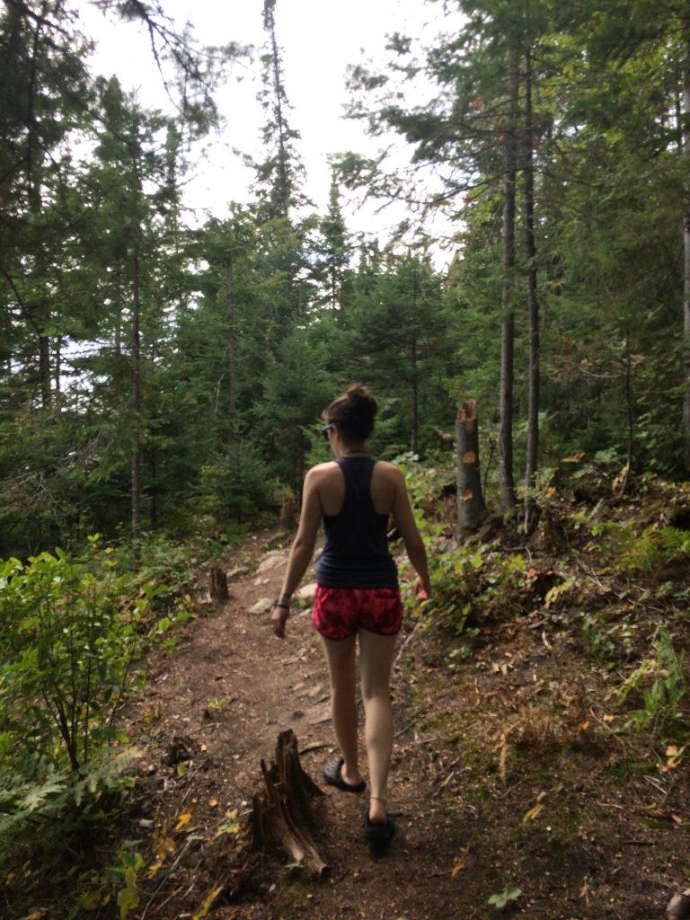 She walk...I follow...