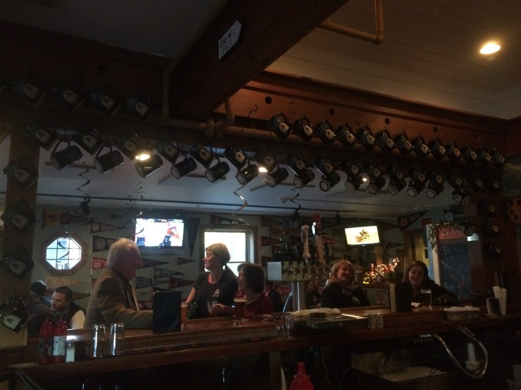 Lake Placid Pub and Brewery. It