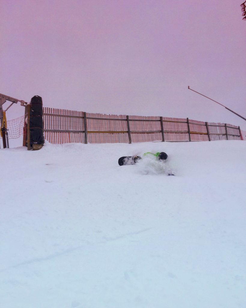 Getting Pitted. Photo: Corey Jacobs (Mount St. Louis)