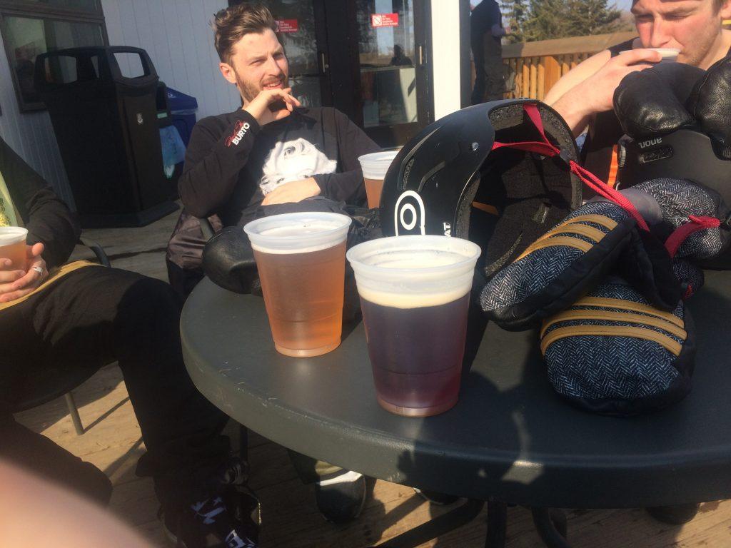 Day ending beers