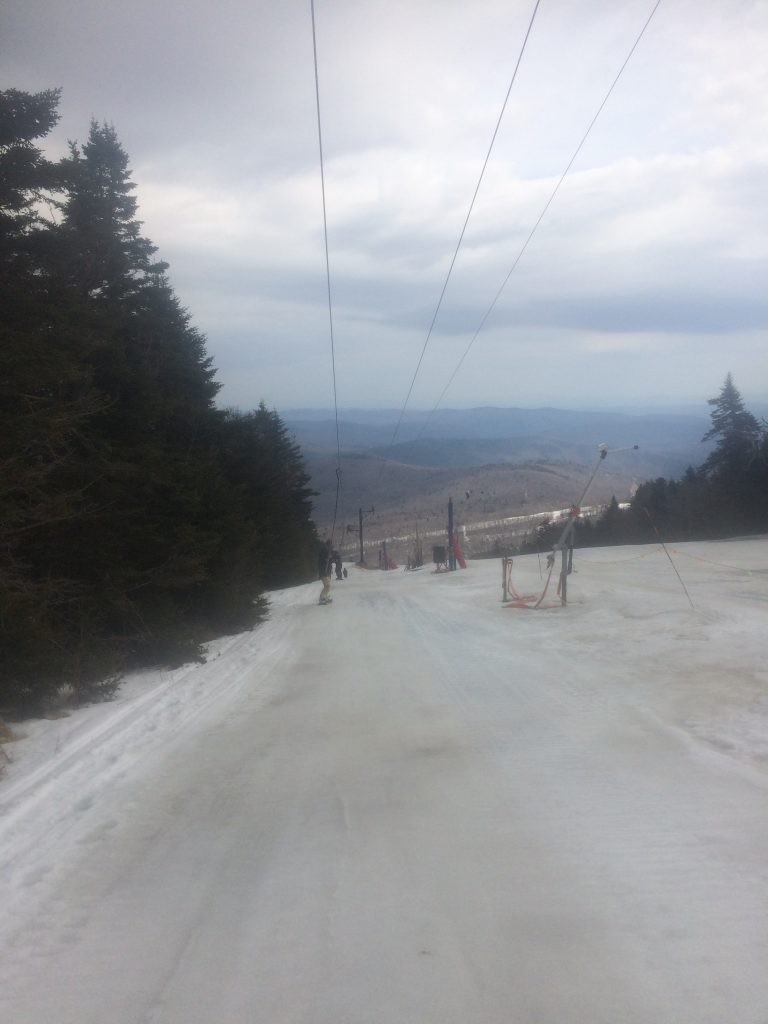 The gnarliest T-bar ride.