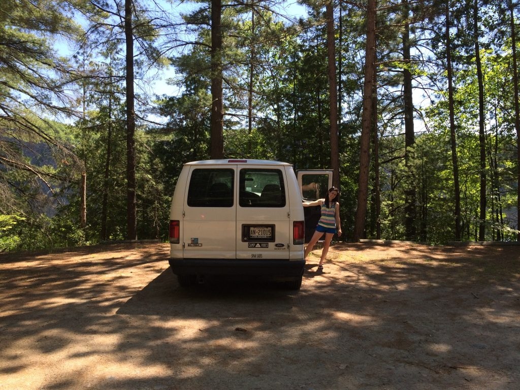 Obligatory Van Photo before hiking in.