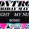 Control Presents: Redlight, My Nu Leng and Bones