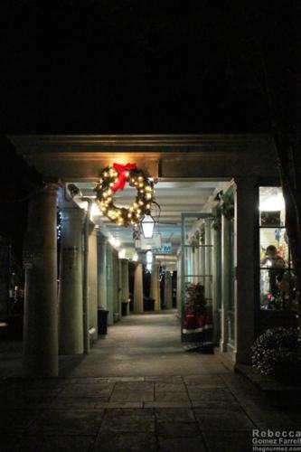 Merry Christmas walkway.