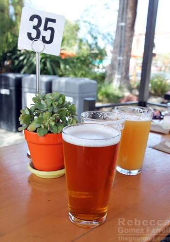 Westbrae Biergarten beer garden