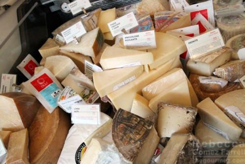 Cheeses at AG Ferrari.