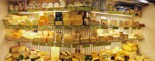 More Market Hall Cheeses.
