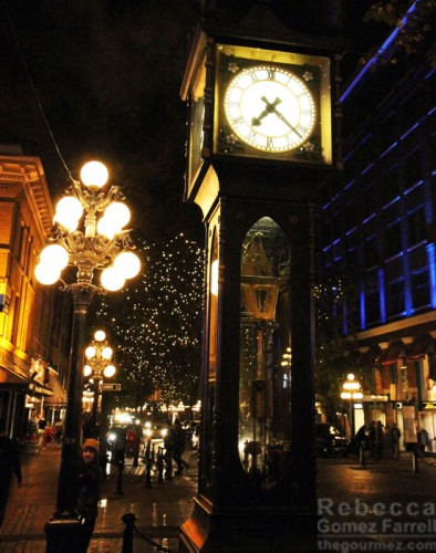 Vancouver's steam-powered clock.
