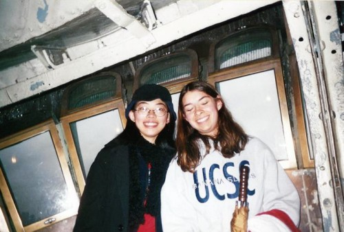 Me and my friend Donna in 2001