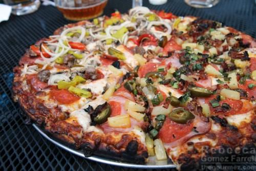 Pinky's Pizza Half and Half