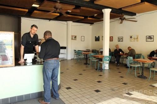 Inside Black Spring Coffee