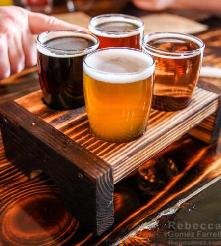 beer sampler brews and brats