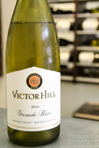 Victor Hill 2013 grenache blanc Matthes Vineyard