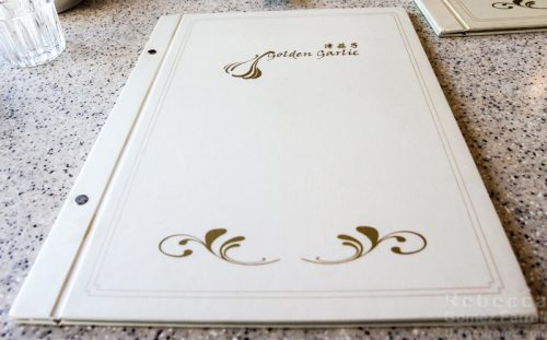 Golden Garlic menu