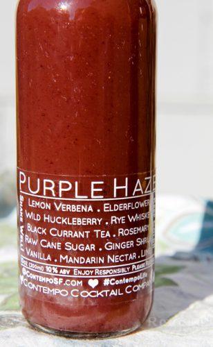 Contempo cocktail Purple Haze