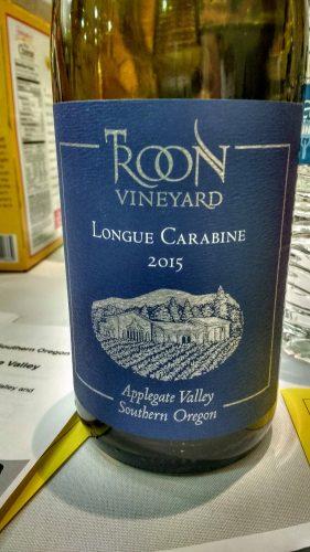 Troon Longue Carabine wine