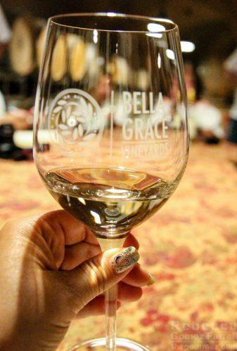 Bella Grace Vineyards wine vermentino
