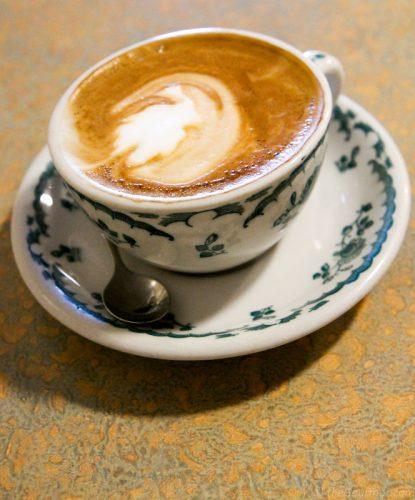 Cappuccino at Zing Cafe Berkeley