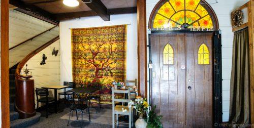 Seating at Zing Cafe