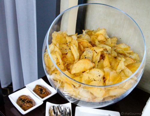 Chips Nori Salt Cityscape Hilton San Francisco