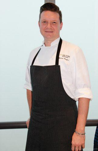 Chef Michael Vaughn Cityscape Hilton San Francisco