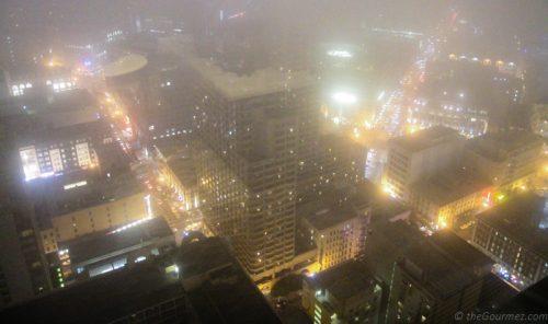 Fog Cityscape Hilton San Francisco