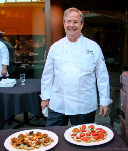 Chef Peter Chastain. Prima Walnut Creek