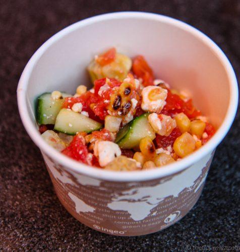 corn salad diablo valley college