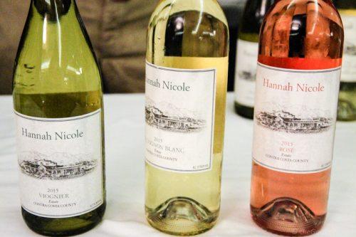 hannah nicole wines sauvignon blanc rose viognier