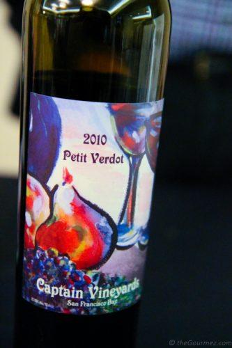 2010 Captain Vineyards Petit verdot